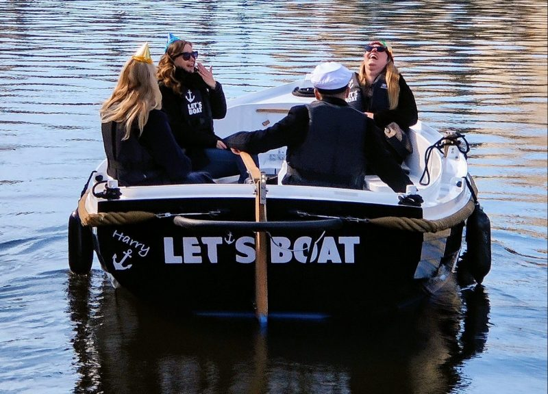 A boat trip in the canals of Gothenburg
